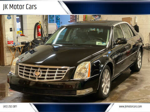 2011 Cadillac DTS for sale at JK Motor Cars in Pittsburgh PA