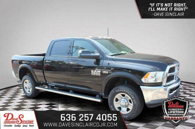 2018 RAM Ram Pickup 2500 for sale at Dave Sinclair Chrysler Dodge Jeep Ram in Pacific MO