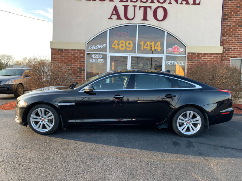2014 Jaguar XJL for sale at Professional Auto Sales & Service in Fort Wayne IN