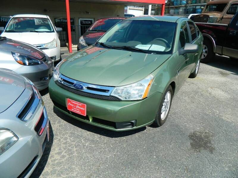2008 Ford Focus for sale at Craig's Classics in Fort Worth TX