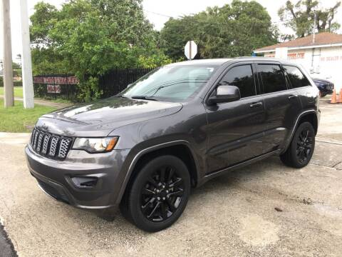 2018 Jeep Grand Cherokee for sale at FIRST FLORIDA MOTOR SPORTS in Pompano Beach FL