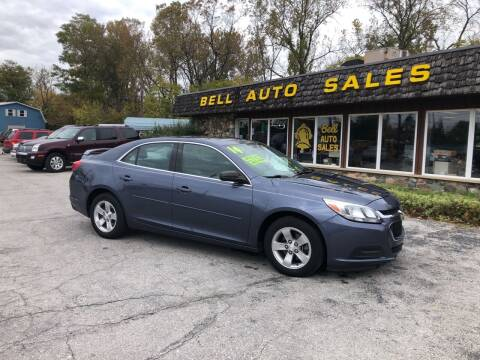 2014 Chevrolet Malibu for sale at BELL AUTO & TRUCK SALES in Fort Wayne IN