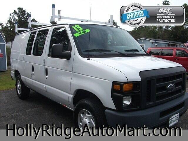 2013 Ford E-Series Cargo for sale at Holly Ridge Auto Mart in Holly Ridge NC