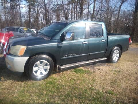 2005 Nissan Titan for sale at Easy Auto Sales LLC in Charlotte NC
