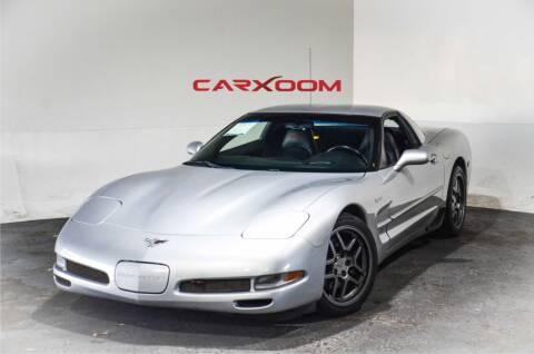 2003 Chevrolet Corvette for sale at CarXoom in Marietta GA