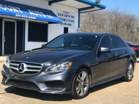 2015 Mercedes-Benz E-Class for sale at Discount Auto Company in Houston TX