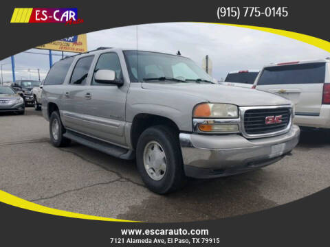 2006 GMC Yukon XL for sale at Escar Auto in El Paso TX