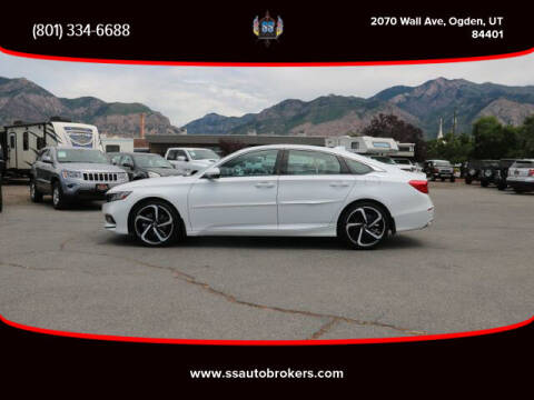 2018 Honda Accord for sale at S S Auto Brokers in Ogden UT