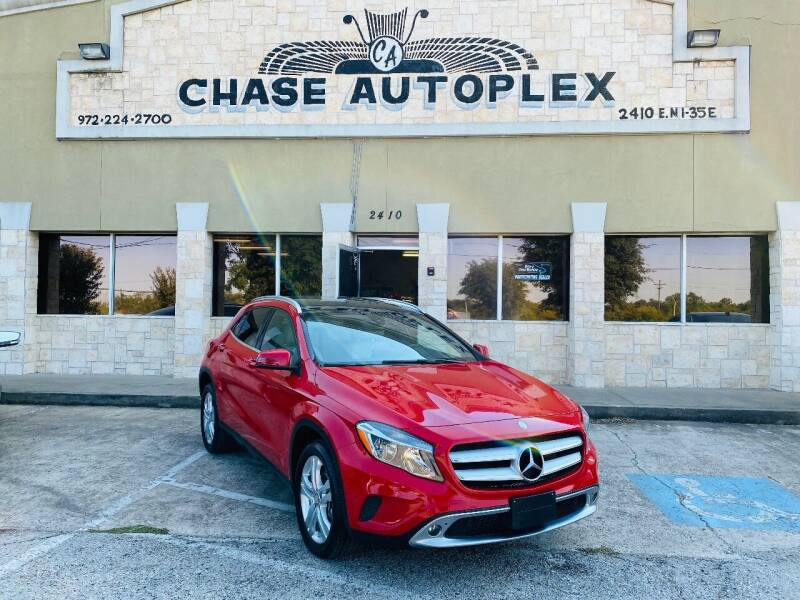 2017 Mercedes-Benz GLA for sale at CHASE AUTOPLEX in Lancaster TX