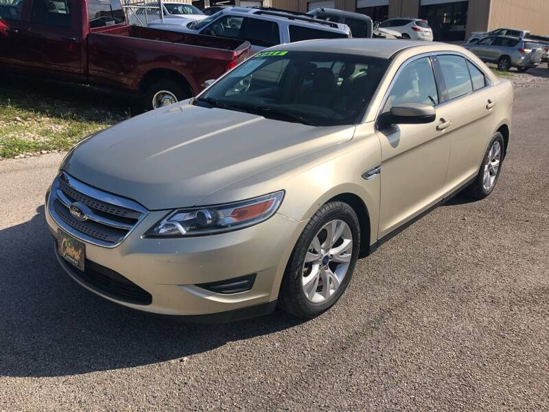 2010 Ford Taurus for sale at Central Automotive in Kerrville TX