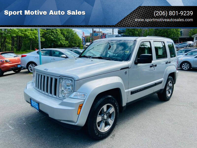 2008 Jeep Liberty for sale at Sport Motive Auto Sales in Seattle WA