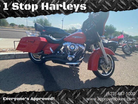 2010 Harley Davidson Street Glide for sale at 1 Stop Harleys in Peoria AZ