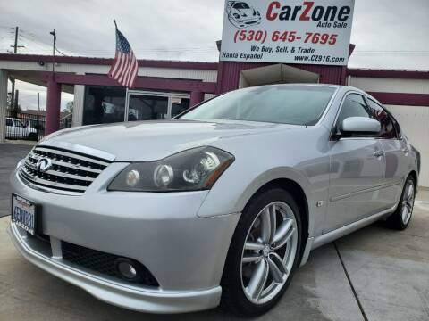 2006 Infiniti M45 for sale at CarZone in Marysville CA