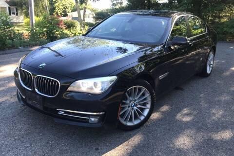 2013 BMW 7 Series for sale at TRANS P in East Windsor CT