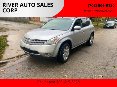 2007 Nissan Murano for sale at RIVER AUTO SALES CORP in Maywood IL