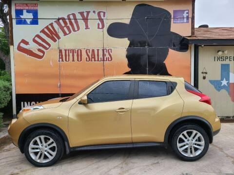 2013 Nissan JUKE for sale at Cowboy's Auto Sales in San Antonio TX