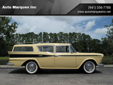 1959 AMC Rambler for sale at Auto Marques Inc in Sarasota FL