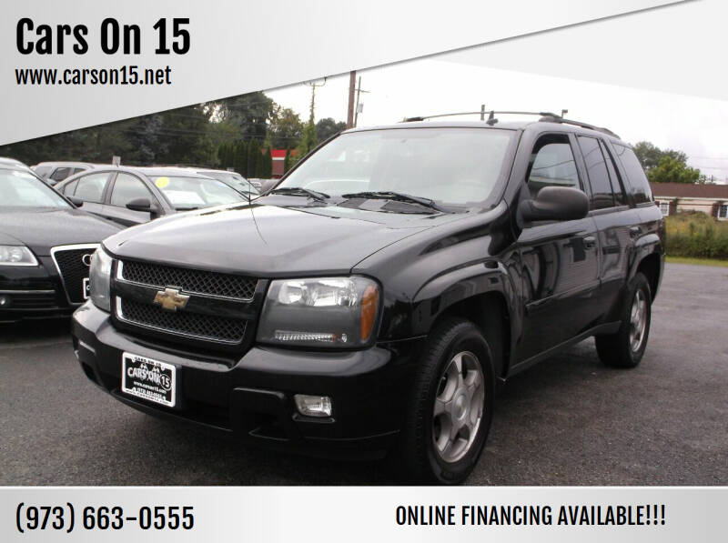 2008 Chevrolet TrailBlazer for sale at Cars On 15 in Lake Hopatcong NJ