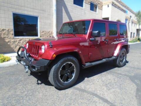 2012 Jeep Wrangler Unlimited for sale at COPPER STATE MOTORSPORTS in Phoenix AZ