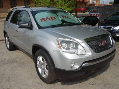 2011 GMC Acadia for sale at R & D Motors in Austin TX