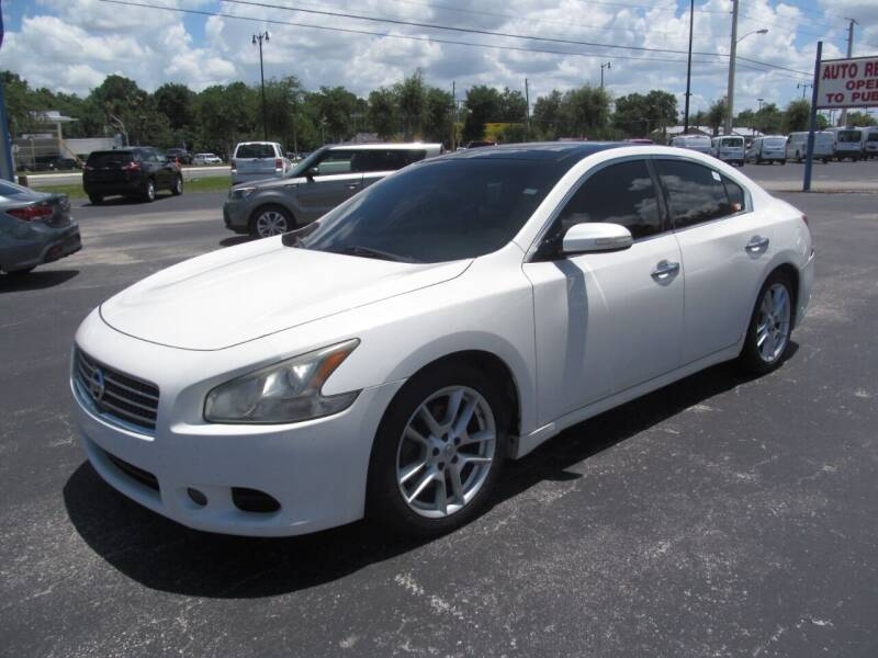 2011 Nissan Maxima for sale at Blue Book Cars in Sanford FL