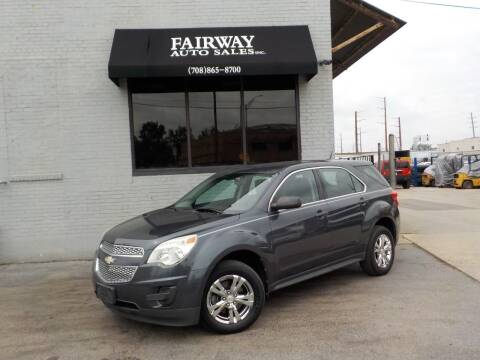2011 Chevrolet Equinox for sale at FAIRWAY AUTO SALES, INC. in Melrose Park IL