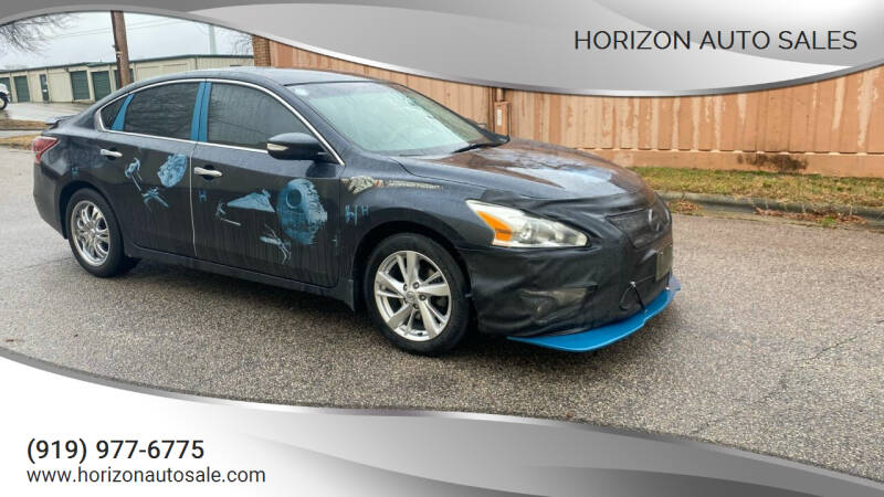 2013 Nissan Altima for sale at Horizon Auto Sales in Raleigh NC