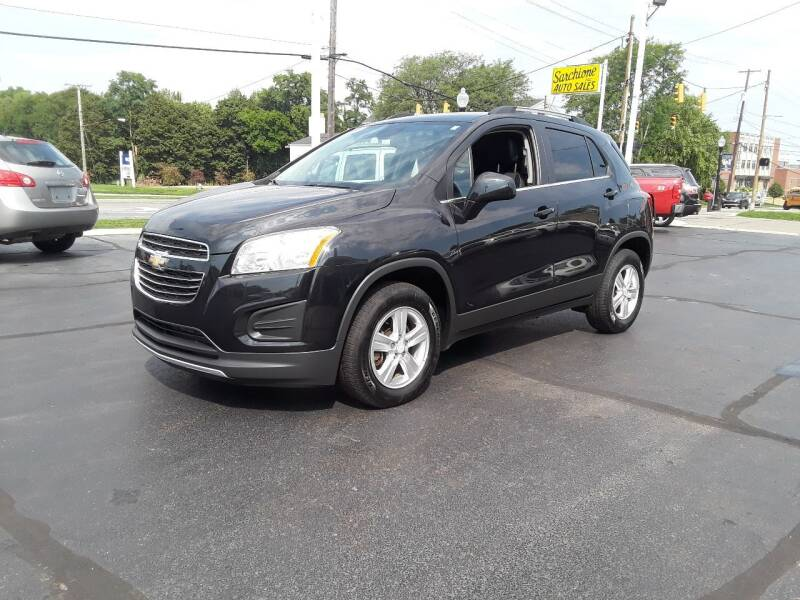 2015 Chevrolet Trax for sale at Sarchione INC in Alliance OH