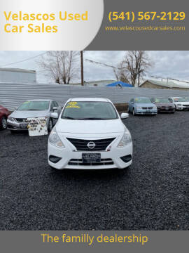 2017 Nissan Versa for sale at Velascos Used Car Sales in Hermiston OR