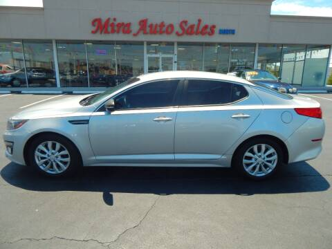 2015 Kia Optima for sale at Mira Auto Sales in Dayton OH