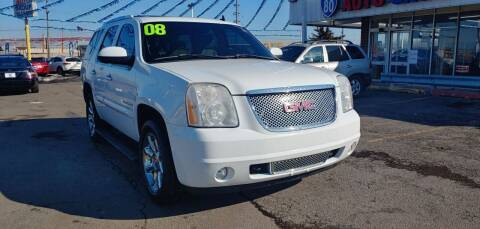 2008 GMC Yukon for sale at I-80 Auto Sales in Hazel Crest IL