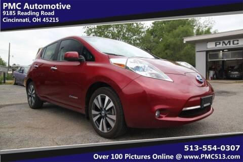 2013 Nissan LEAF for sale at PMC Automotive in Cincinnati OH