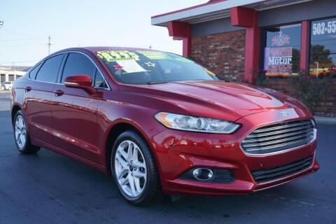 2013 Ford Fusion for sale at Premium Motors in Louisville KY