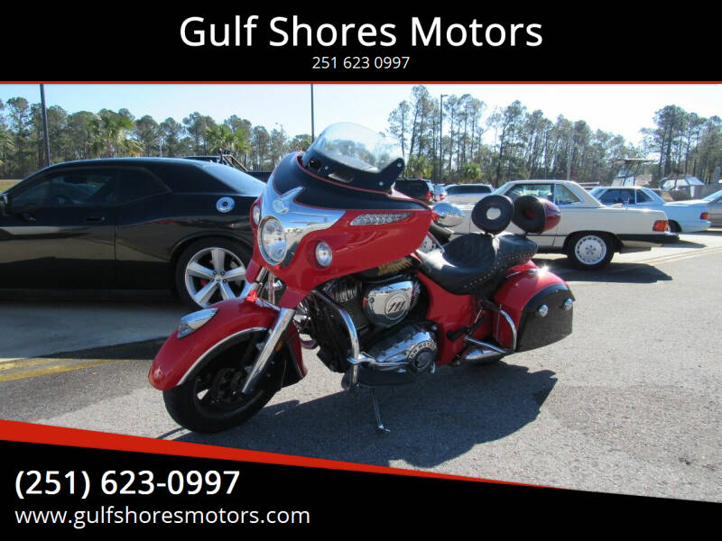 2017 Indian Chieftain for sale at Gulf Shores Motors in Gulf Shores AL