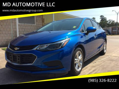 2017 Chevrolet Cruze for sale at MD AUTOMOTIVE LLC in Slidell LA