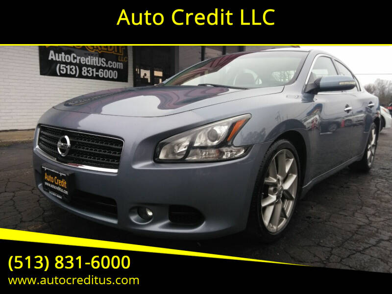 2011 Nissan Maxima for sale at Auto Credit LLC in Milford OH