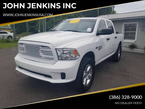 2020 RAM Ram Pickup 1500 Classic for sale at JOHN JENKINS INC in Palatka FL