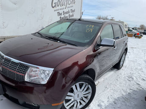 2009 Lincoln MKX for sale at PYRAMID MOTORS - Fountain Lot in Fountain CO