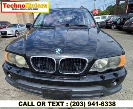 2003 BMW X5 for sale at Techno Motors in Danbury CT