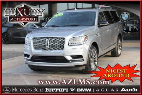 2020 Lincoln Navigator for sale at Luxury Motorsports in Phoenix AZ