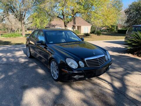 2008 Mercedes-Benz E-Class for sale at CARWIN MOTORS in Katy TX