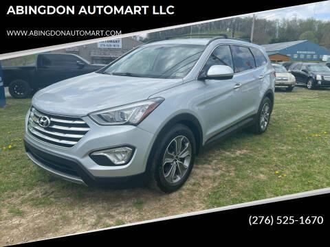 2014 Hyundai Santa Fe for sale at ABINGDON AUTOMART LLC in Abingdon VA