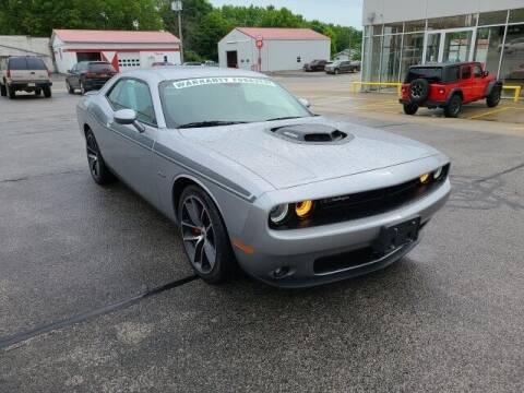 2018 Dodge Challenger for sale at LeMond's Chevrolet Chrysler in Fairfield IL