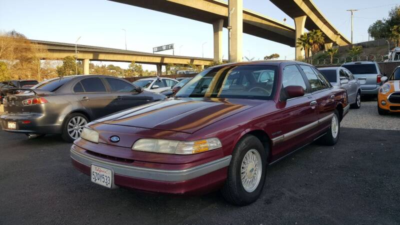 1992 Ford Crown Victoria for sale at Legend Auto Sales Inc in Lemon Grove CA