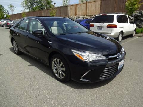 2016 Toyota Camry Hybrid for sale at Prudent Autodeals Inc. in Seattle WA