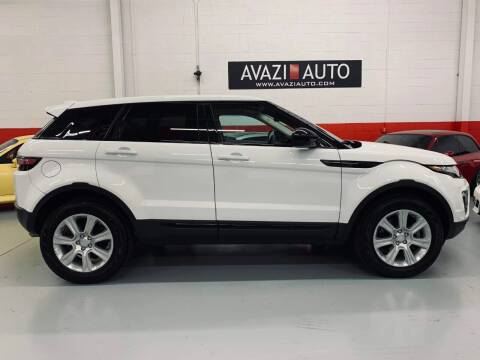 2017 Land Rover Range Rover Evoque for sale at AVAZI AUTO GROUP LLC in Gaithersburg MD