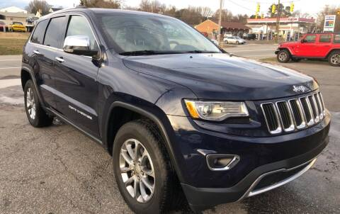 2015 Jeep Grand Cherokee for sale at Creekside Automotive in Lexington NC