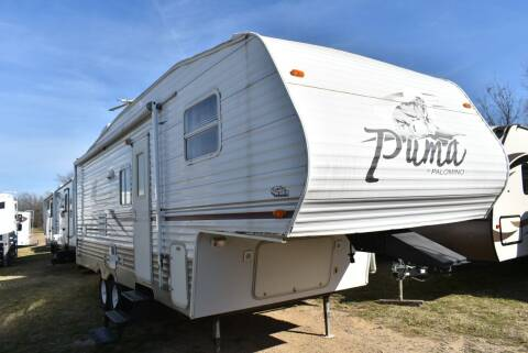 2006 Forest River Puma 265RBG for sale at Buy Here Pay Here RV in Burleson TX