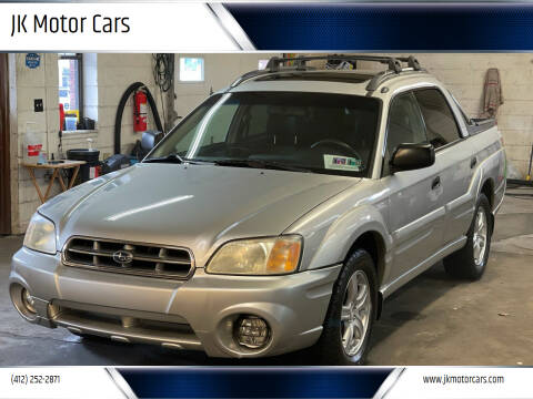 2006 Subaru Baja for sale at JK Motor Cars in Pittsburgh PA