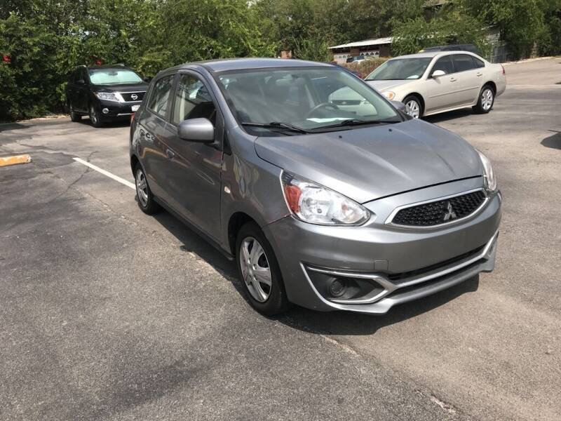 2018 Mitsubishi Mirage for sale at Auto Solution in San Antonio TX